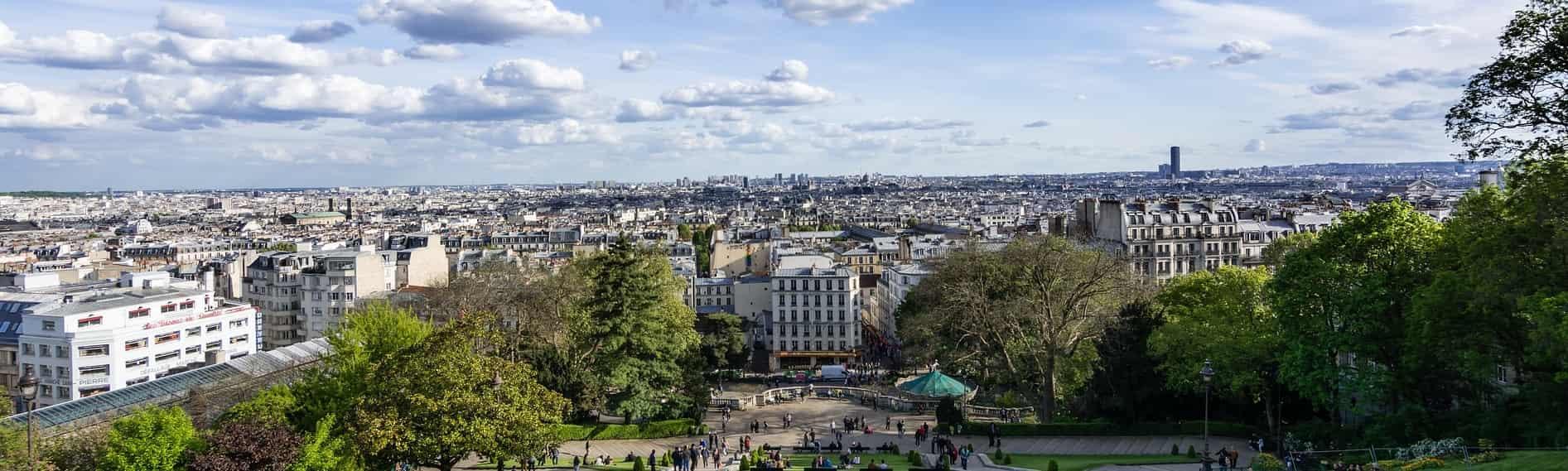 Montmartre Aussicht