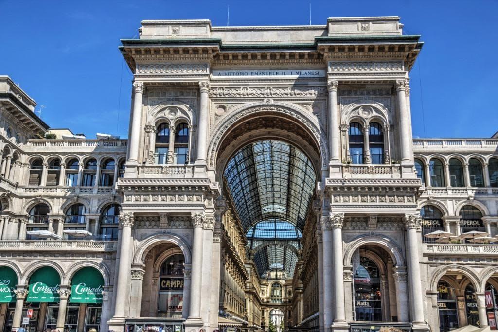 Einkaufen in Mailand