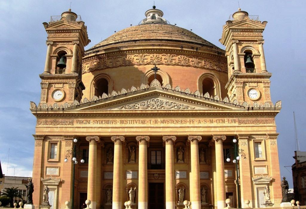 Die Kirche Rotunda in Mosta auf Malta