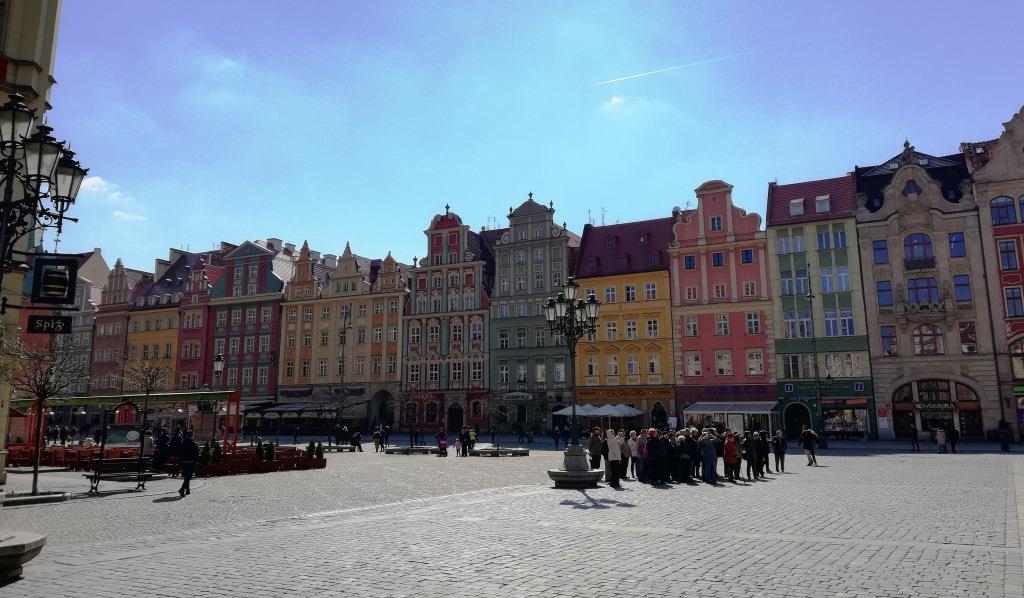 Der Rynek in Breslau