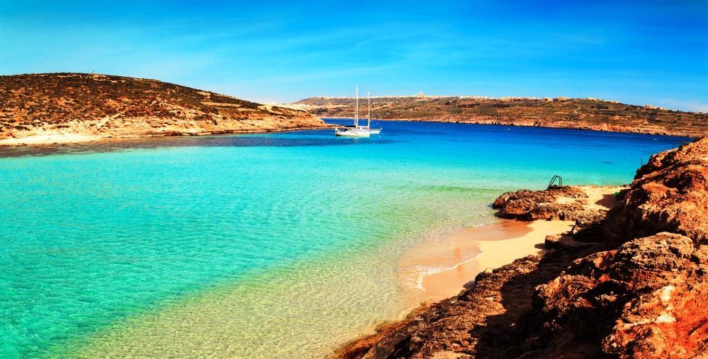 eine herrliche Bucht auf Malta