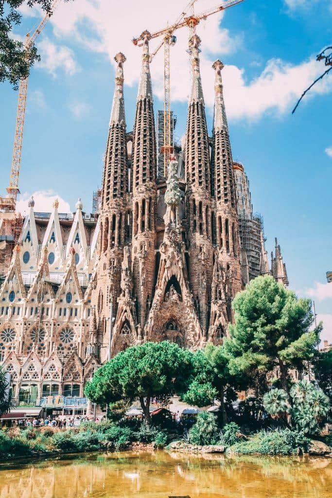 Sagrada Familia besichtigen in Barcelona