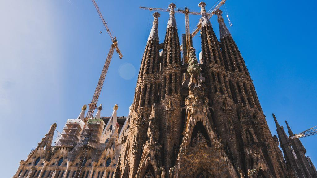 Fassade der Sagrada Familia