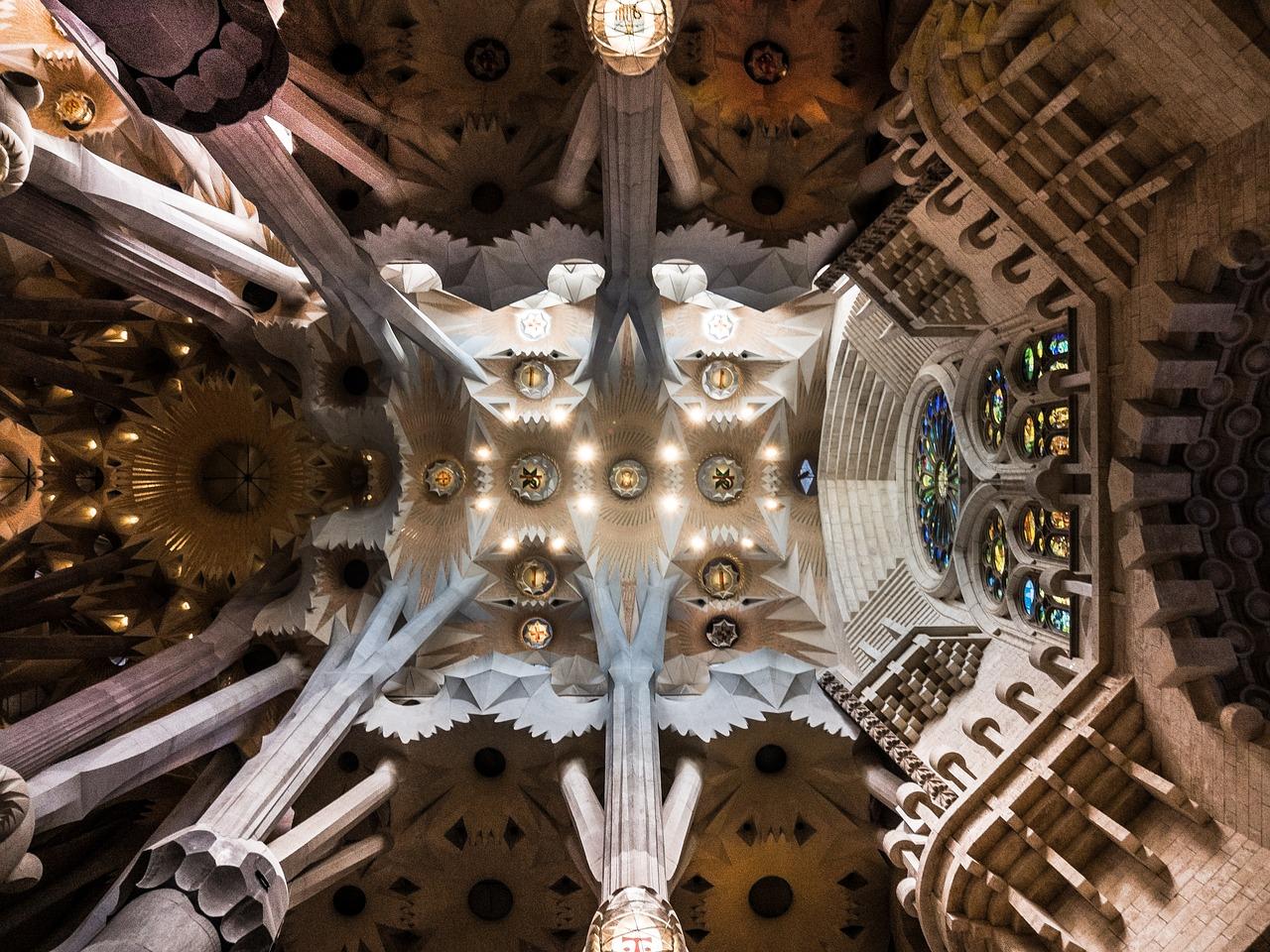 Sagrada Familia Decke