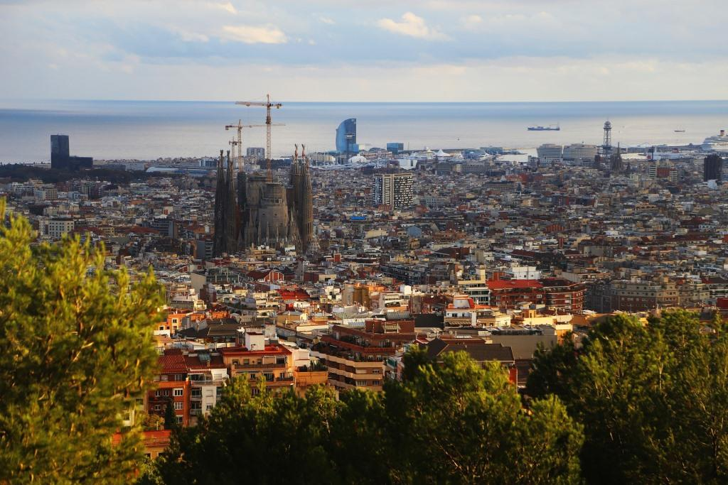 Aussicht auf die Sagrada Familia