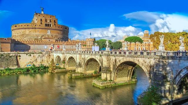 Engelsburg in Rom Besichtigung