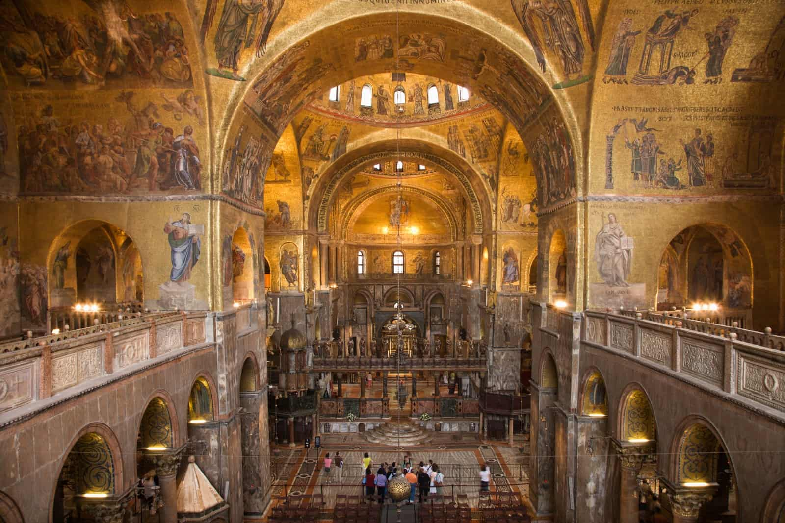 Markusdom in Venedig von innen