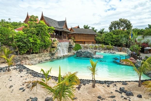 Schwimmende Markt Siam Park