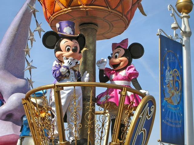 Disneyland Paris Mickie Mouse